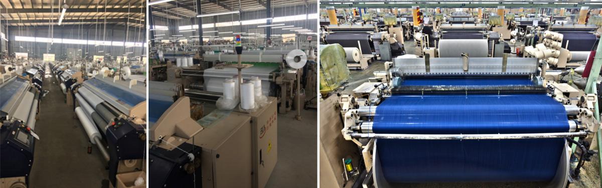 羽鸣自建纺织厂